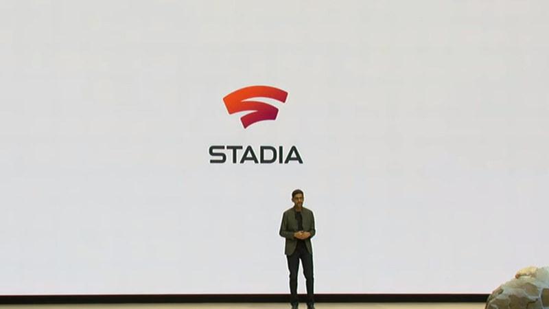 「Stadia」ロゴ