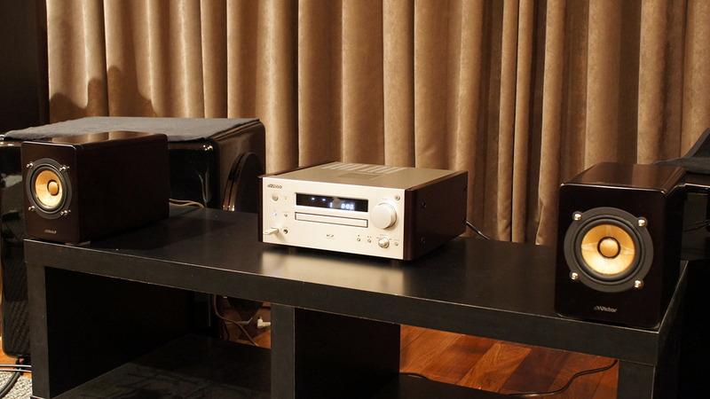 ビクターのウッドコーンオーディオシステム「EX-HR99」