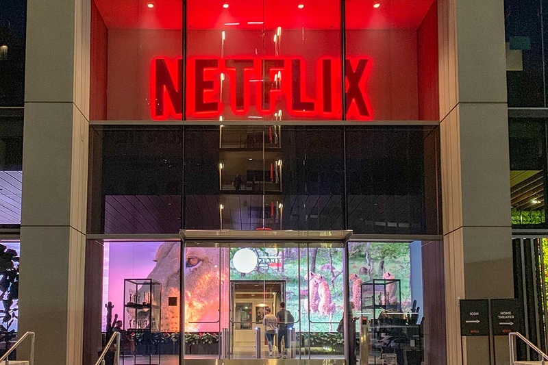 Netflix・ロサンゼルスオフィス。主にコンテンツ制作の拠点で、「Netflix Labs Day 2019」はここで開催された