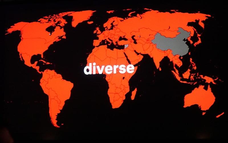 赤く塗られているのが、Netflixのサービス展開国。中国には進出できていないが、この状況は当面変わらないようである
