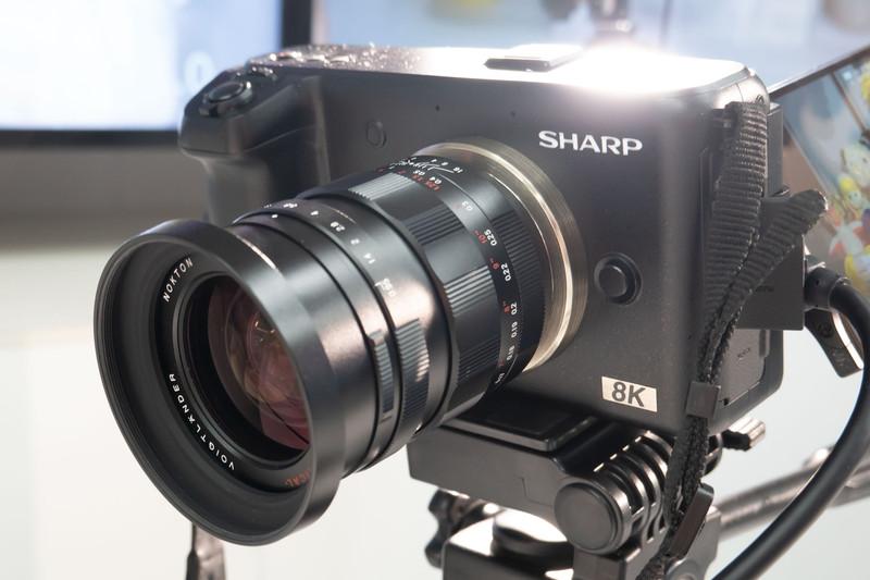 8Kビデオカメラ「8C-B30A」