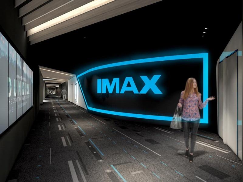 IMAXレーザーのシアターを導入