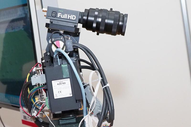 AI搭載ロボットカメラのイメージ