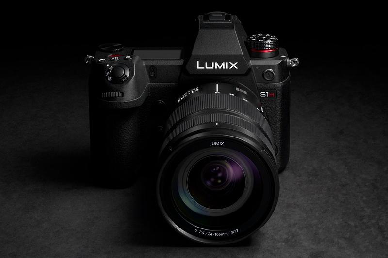 """LUMIX S1H<br /><span class=""""fnt-70"""">※製品外観は最終のものではない</span>"""