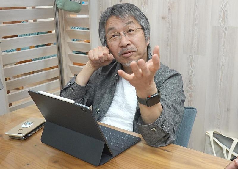 ピクチャーエレメント代表取締役でテクニカルプロデューサーの大屋哲男さん