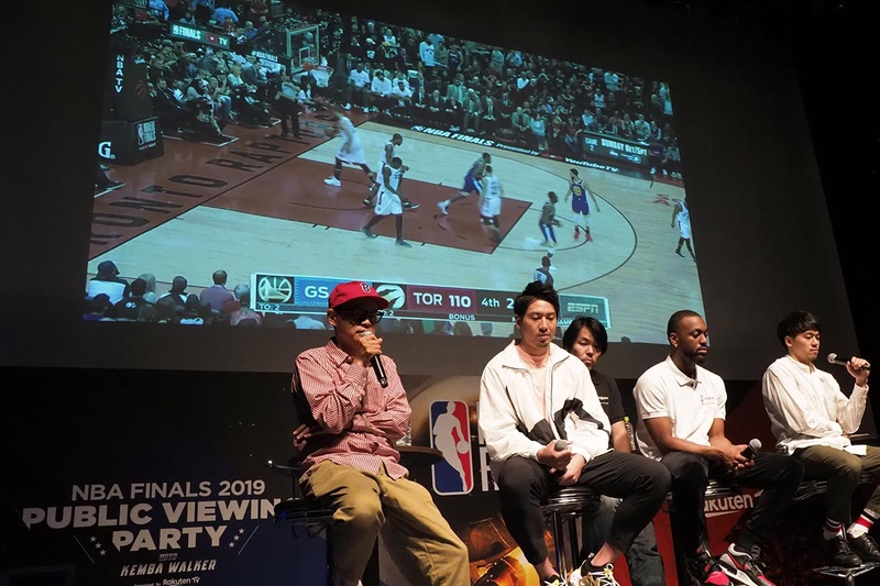 「NBA FINALS 2019 PUBLIC VIEWING PARTY with Kemba Walker presented by Rakuten TV」