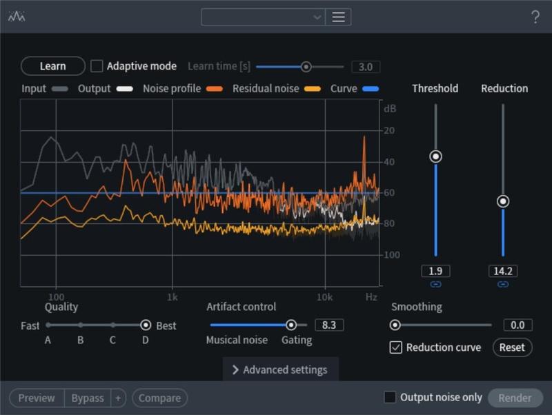 Spectral De-noiseを適用