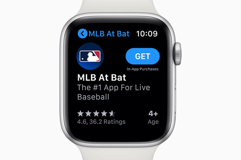 Apple Watch用App Store。アプリをウォッチに直接インストールできる