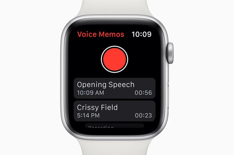 ボイスメモアプリがApple Watchに対応