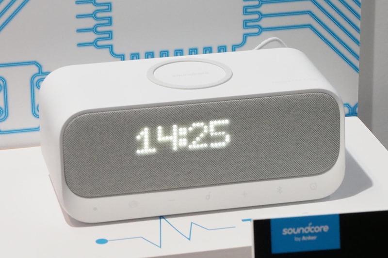 Qi充電ができるワイヤレススピーカー「Wakey」