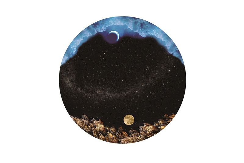 「日本の星空と月」の原板