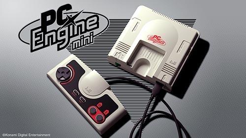 "「PCエンジン mini」本体イメージ<br><span class=""fnt-70"">(c)Konami Digital Entertainment</span>"
