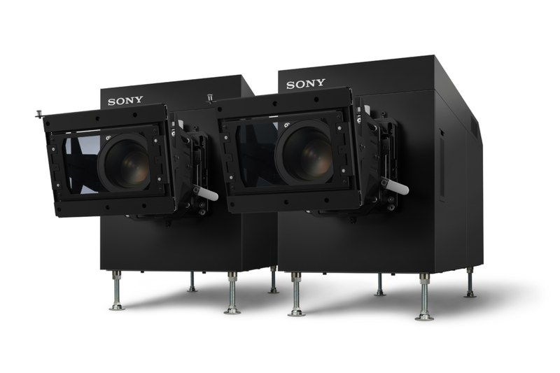 ソニーデジタルシネマは高品位な3D映像の投写も特徴という
