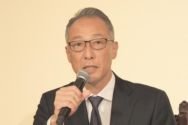 「映画館に行こう! 」実行委員会の松岡宏泰委員長