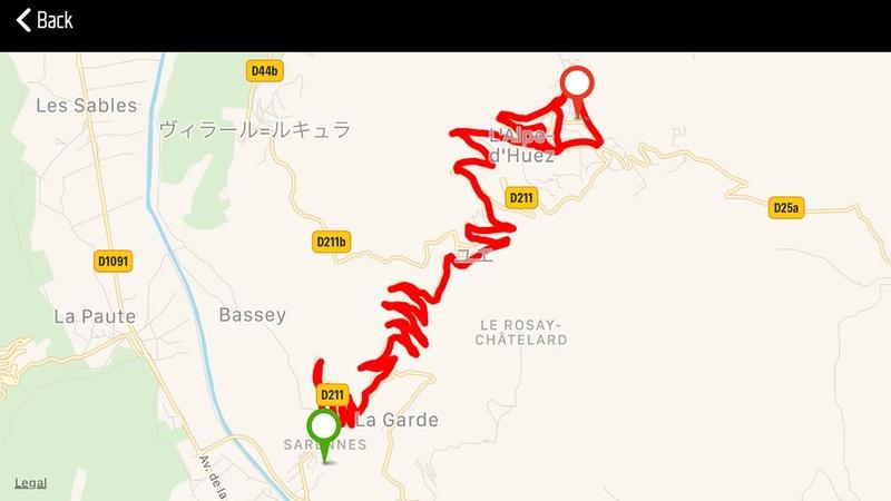 約18kmの上り坂をクリアできるか