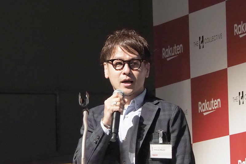 コンテンツビジネス準備室の菊池辰也氏