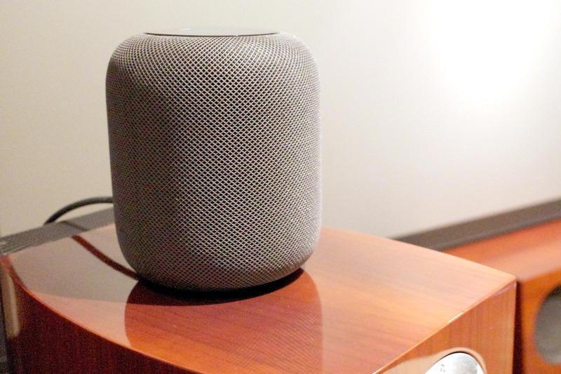 アップルのスマートスピーカー「HomePod」