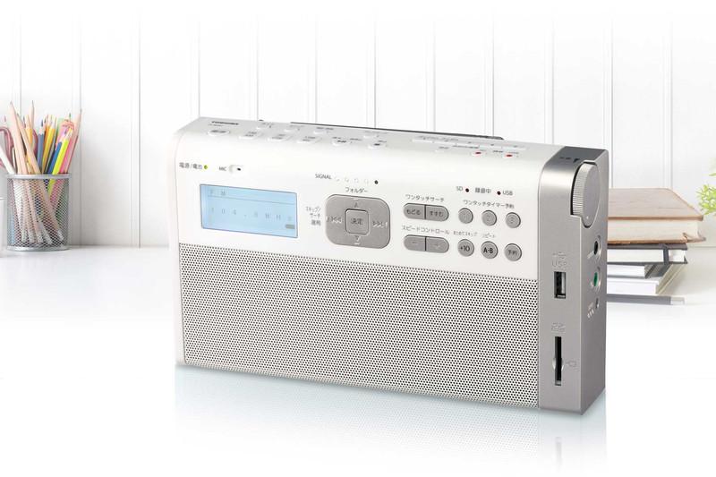ワンタッチでNHKラジオの録音予約ができるラジオ「TY-RHR1」