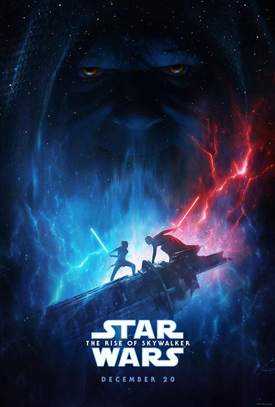 """「スター・ウォーズ/スカイウォーカーの夜明け」US版ポスター<Br><span class=""""fnt-70"""">(C)2019  Lucasfilm Ltd. All Rights Reserved.</span>"""