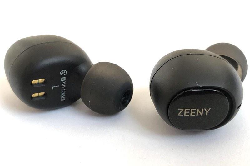音声UI対応の完全ワイヤレスイヤフォン「Zeeny TWS」