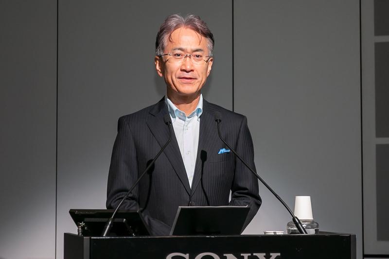 吉田憲一郎氏(ソニー社長兼CEO)