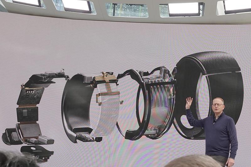 発表会で示された、Echo Loopの内部構造
