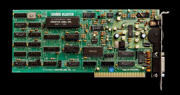 初代Sound Blaster登場から、今年で30周年(出典Creative Technology)