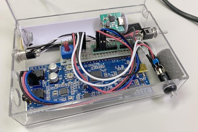 DSPを使ったプロトタイプ機材