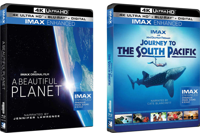 IMAX Enhanced版UHD BD「A Beautiful Planet」と「Journey to the South Pacific」