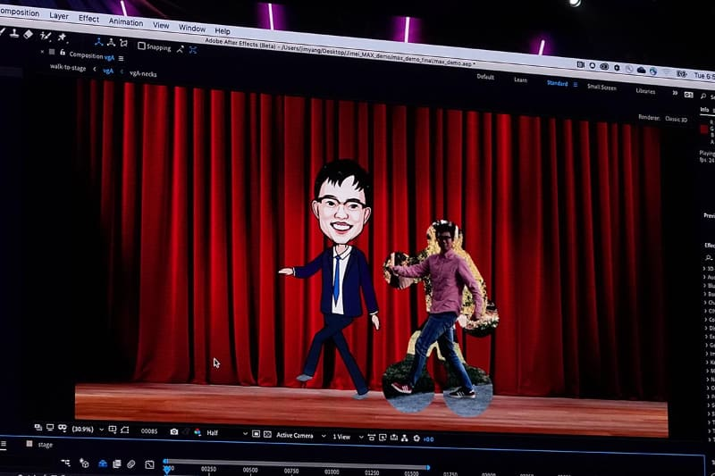 動画内の人の動きからボーンを生成し、キャラクターアニメーションに反映。アニメ作りのノウハウがない人でも簡単にモーションのついたアニメーションが作れる