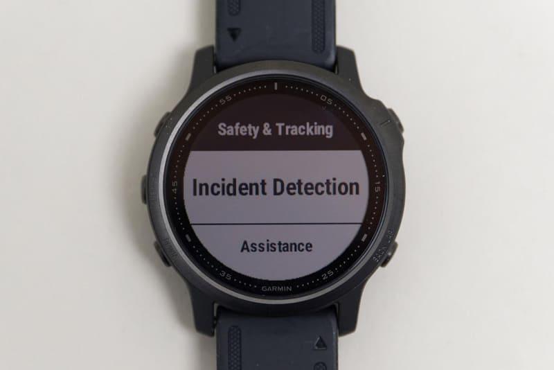衝撃などにより事故が発生したと判断されたとき、緊急連絡先に通知する「Incident Detection」という機能も