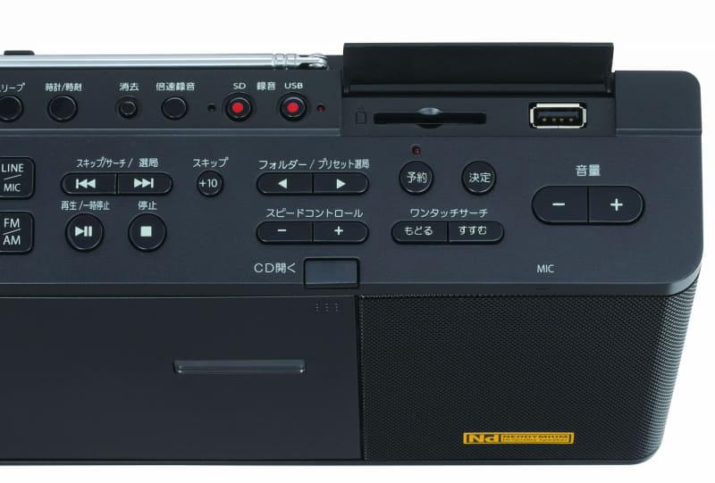 ANX1ではSDカードスロットとUSBポートを搭載