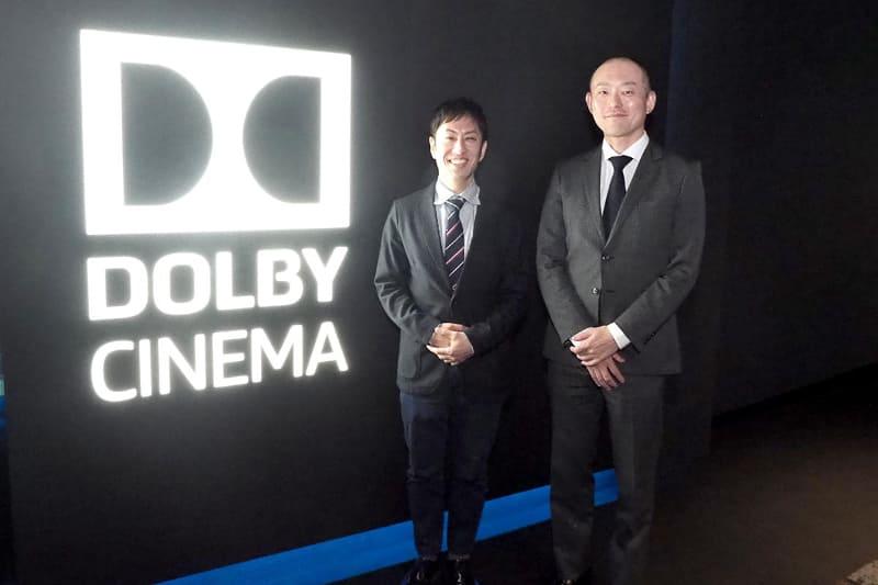 左から、松竹マルチプレックスシアターズ マーケティング部劇場宣伝室の岡本敏幸室長、丸の内ピカデリー支配人を務める島友宏氏