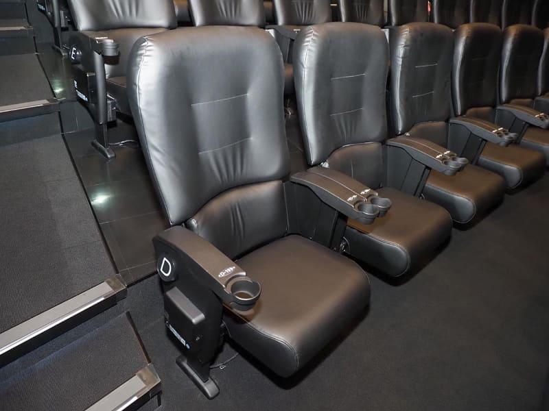 余裕のある座席スペース
