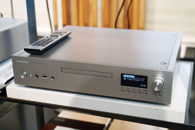 SACD対応でMQA-CDにも対応したネットワーク/SACDプレーヤー「SL-G700」