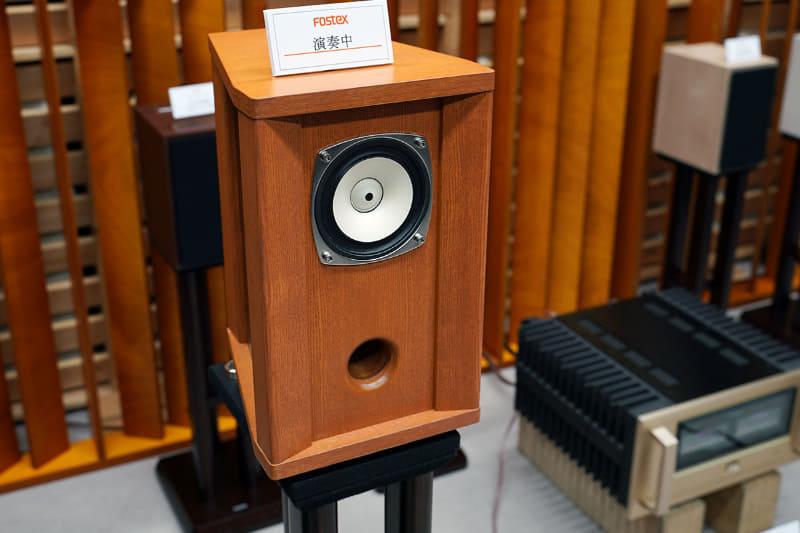 「FE103A」専用設計のバスレフ型スピーカーボックス「YK103A」