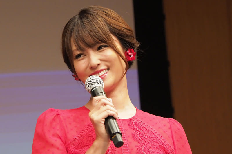 4K8K推進キャラクターの深田恭子さん