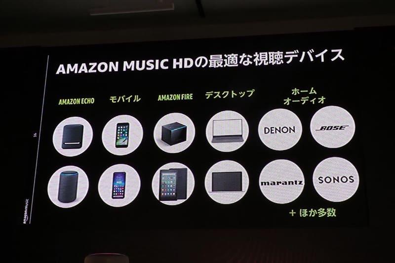 Amazon Music HDに最適という視聴デバイス