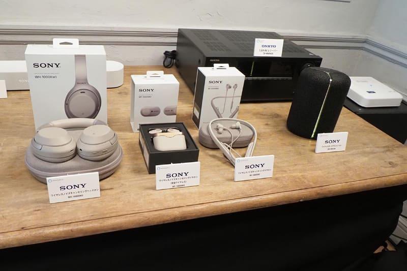 他社のAlexa搭載/連携対応オーディオ機器も紹介