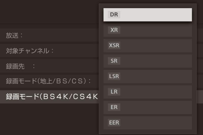 ソニーの4K長時間モード