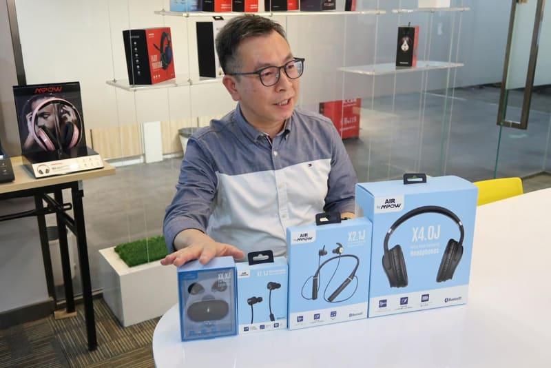 AIR by MPOWブランドを管轄するロニー・ウォン氏