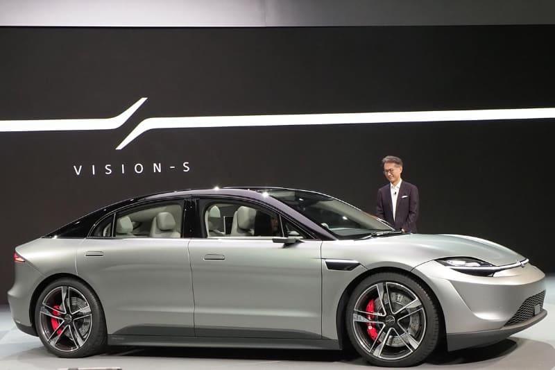電気自動車のコンセプトカー「VISION-S」も360RAに対応