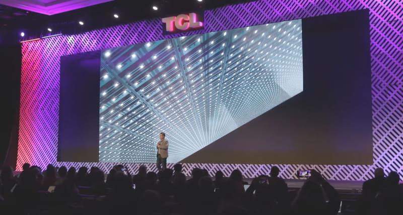 「Vidrian Mini-LED」技術を使ったバックライトのイメージ