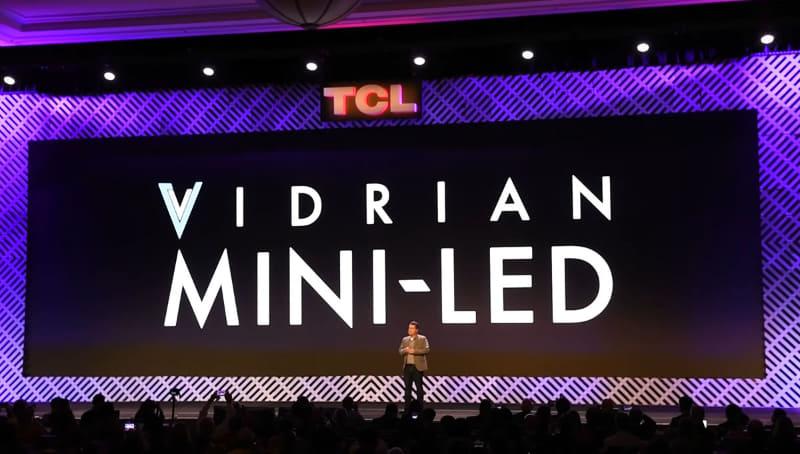 「Vidrian Mini-LED」ロゴ
