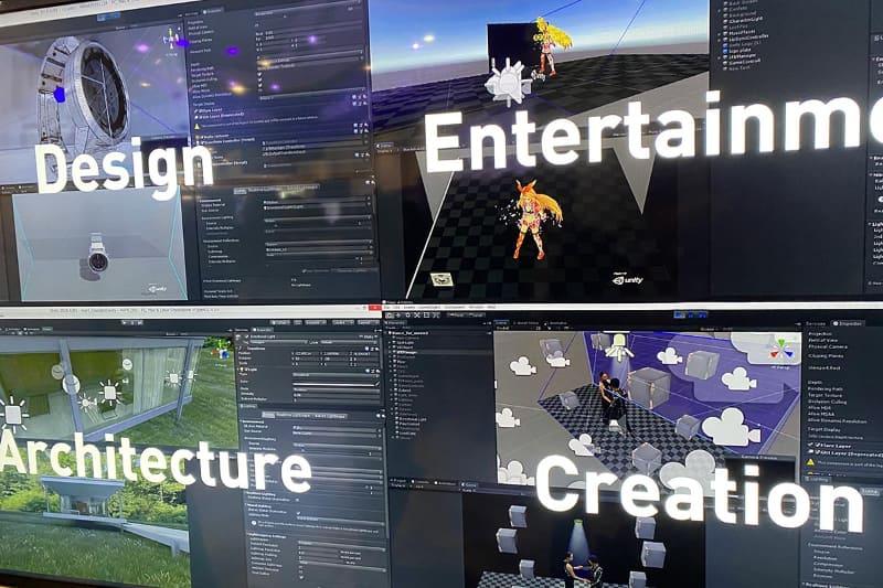 コンテンツクリエイターに新たな制作環境を提供