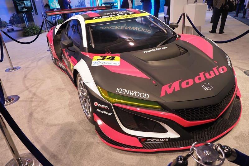 JVCケンウッドはレーシングチーム「Modulo Drago CORSE」に協賛。オンボードカメラなども提供している