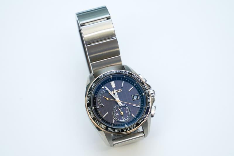 「Seiko Brightz wena wrist pro Solar Radio-controlled set Silver -20th Anniversary Special Edition」