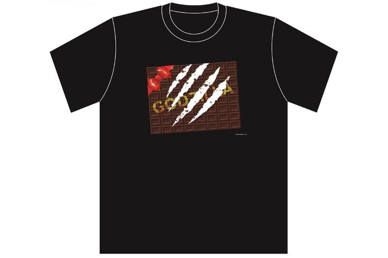 """ゴジラVSバレンタイン Tシャツ<br><span class=""""fnt-70"""">TM & (C) TOHO CO.,LTD.</span>"""