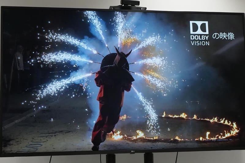 明るさやコントラスト、暗部表現などに優れたDolby Vision映像