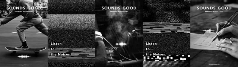 SOUNDS GOODレーベル。山手線の車輪ヤスリがけ、バーナー燃焼音など様々な音源を配信/提供している